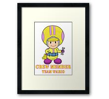 Team Wario Crewmember Framed Print