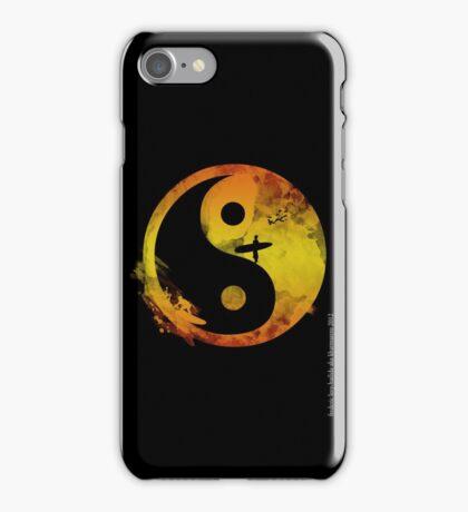 yin yang surfin V1 iPhone Case/Skin