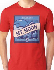 Mt. Moon Pokemon Beer Label Unisex T-Shirt