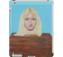 """Museum of strange things No1 """"Study of a blonde girl"""" iPad Case/Skin"""