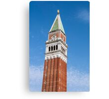 St Mark's Campanile. Canvas Print