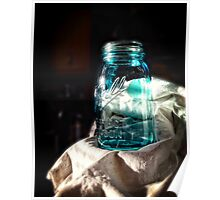 Ball Jar Still Life Poster