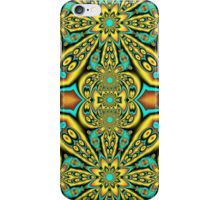 Star Dance, fractal abstract patterns design iPhone Case/Skin