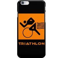 Triathlon one logo iPhone Case/Skin