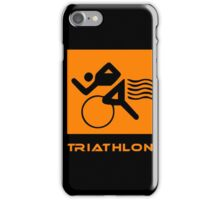 Triathlon one logo iPhone Case/Skin