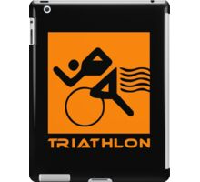Triathlon one logo iPad Case/Skin