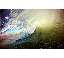 Color Wave Photographic Print