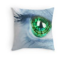 Eye Sees All Throw Pillow
