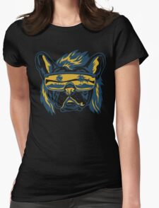 Beach Pooch Womens Fitted T-Shirt