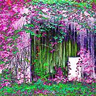 Wild Ivy Barn Magenta by Susan Nixon