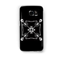Mutant Pirate Flag, black and white Samsung Galaxy Case/Skin