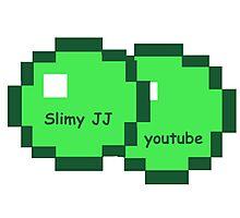 slimy JJ youtube Photographic Print