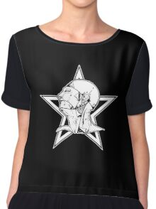 The Sisters Of Mercy (Grey's Anatomy Logo) - The World's End Chiffon Top