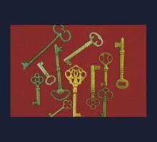 Rouge Keys One Piece - Short Sleeve