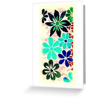 Another Burst of Garden of Flowers, Mosaic Greeting Card