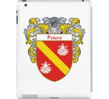 Peters Coat of Arms / Peters Family Crest iPad Case/Skin