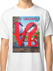 Love New Orleans  Classic T-Shirt