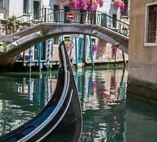Gondola in Venice. by FER737NG