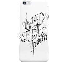 BJJ ART OF HOOKS iPhone Case/Skin