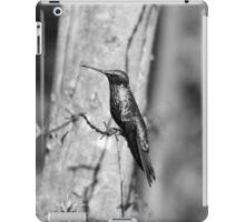 Hummingbird on Barbed Wire iPad Case/Skin