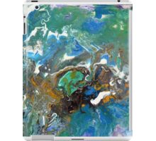 Earth, Abstract, Fluid, Painting, colourful iPad Case/Skin