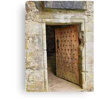 Carnasserie Door Canvas Print