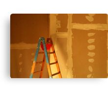 The Building Site... Canvas Print