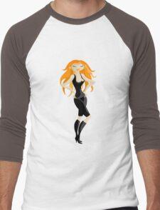 red-haired Men's Baseball ¾ T-Shirt