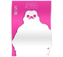 Porco Rosso Minimalist Movie Poster Poster