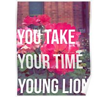 Young Lion Poster