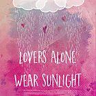 lovers alone wear sunlight by Sybille Sterk