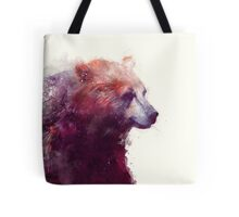 Bear // Calm - Square Format Tote Bag