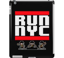 Run New York BLK iPad Case/Skin
