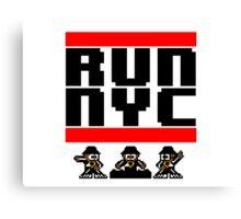 Run New York Canvas Print