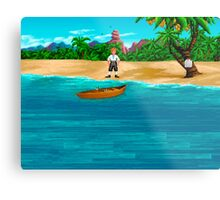 MONKEY ISLAND BEACH Metal Print