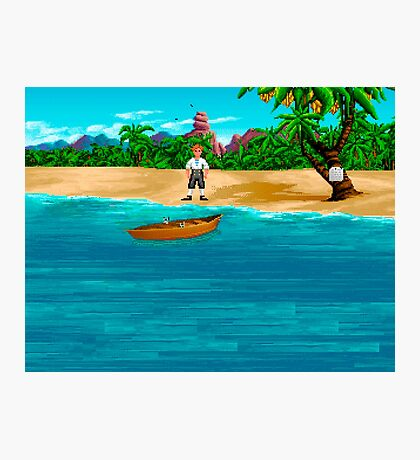 MONKEY ISLAND BEACH Photographic Print