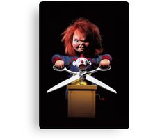 childs play chuckie Canvas Print