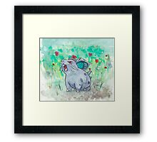 Nidoran Pokemon Framed Print
