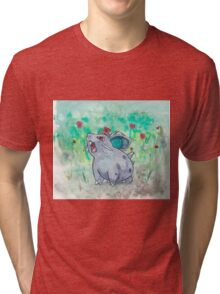 Nidoran Pokemon Tri-blend T-Shirt