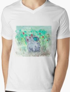 Nidoran Pokemon Mens V-Neck T-Shirt