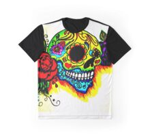 Skull and colors  Graphic T-Shirt
