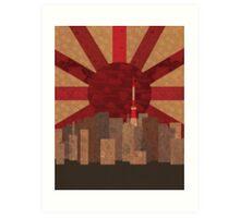 Welcome to Tokyo  Art Print