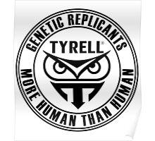 TYRELL CORPORATION - BLADE RUNNER (BLACK) Poster