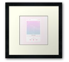 EXO Sing For You Iphone Graphic Framed Print