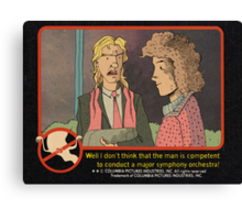 Ghostbusters Trading Card Canvas Print