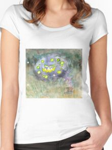 spiritomb pokemon ghost Women's Fitted Scoop T-Shirt