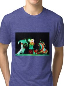 Cali Dancers In Andalucia, Colombia II Tri-blend T-Shirt