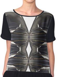 leather, subversive patterns IV Chiffon Top