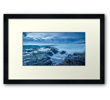 Stormy Seas - Currumbin Beach, Gold Coast, Australia Framed Print