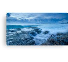 Stormy Seas - Currumbin Beach, Gold Coast, Australia Canvas Print